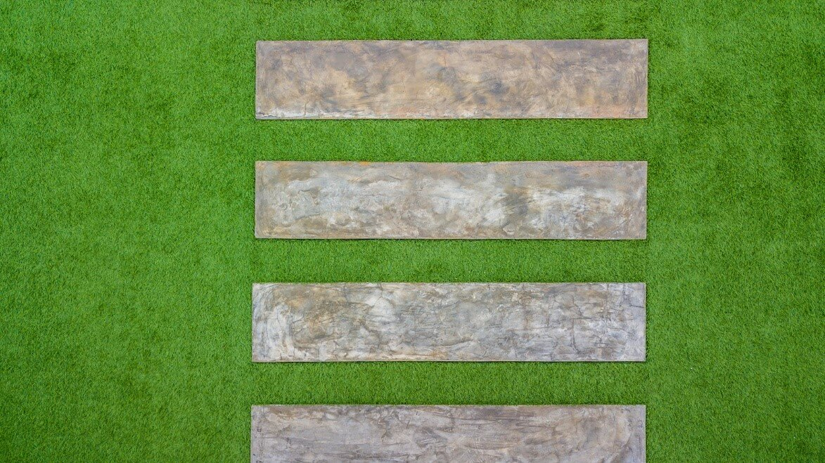 tiles artificial grass