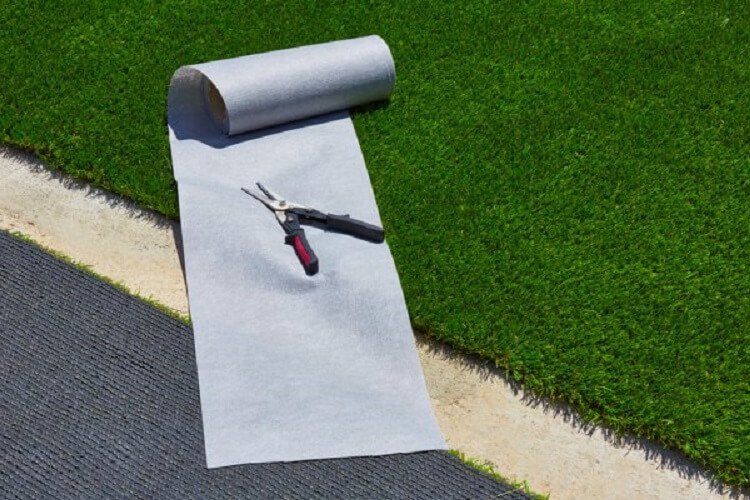 DIY artificial grass installation
