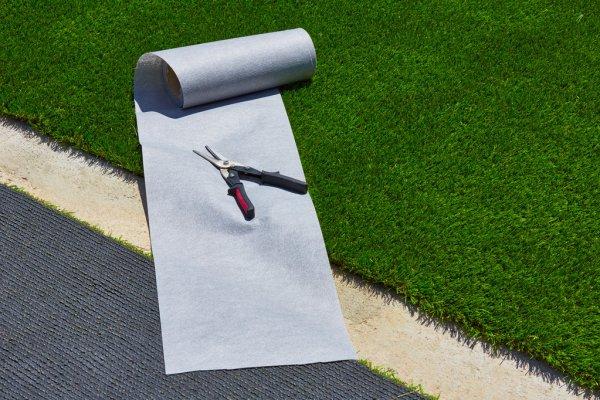 DIY artificial grass installation