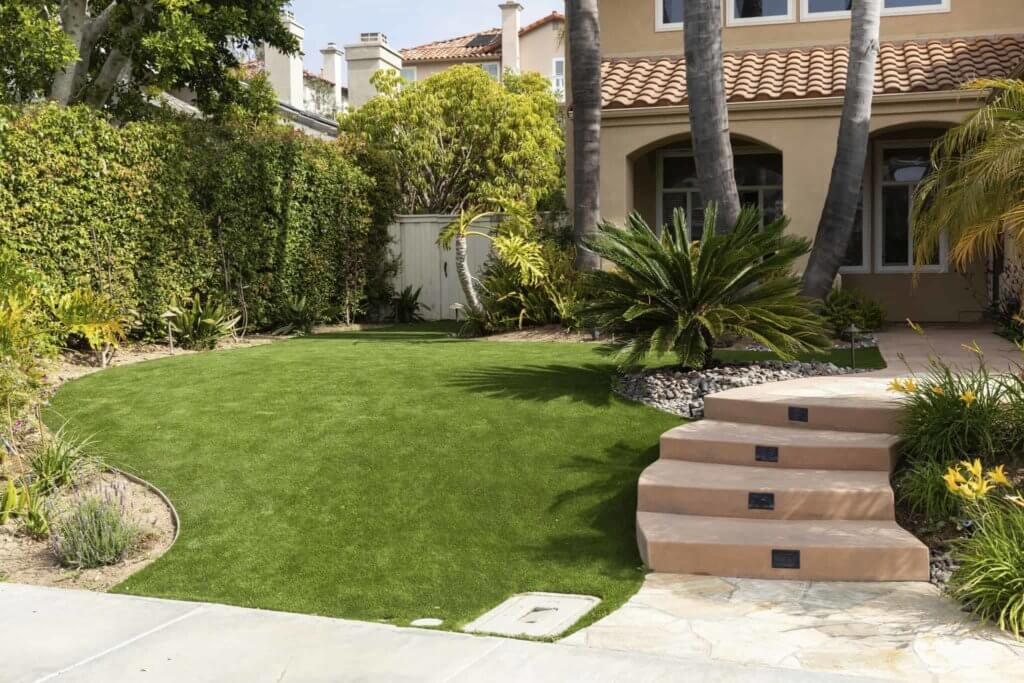 backyard artificial turf for elders